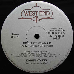 Karen Young - Hot Shot 12-inch single