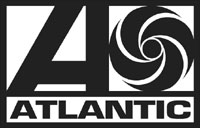 Atlantic Black and White Logo