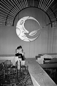 Lovers under the Moon and Spoon at Studio 54