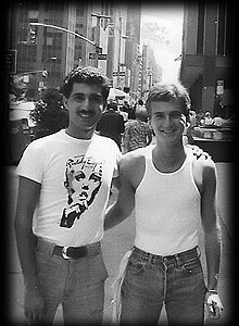 Bobby Vitteritti and Robbie Leslie in NYC