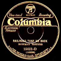Columbia 78rpm label