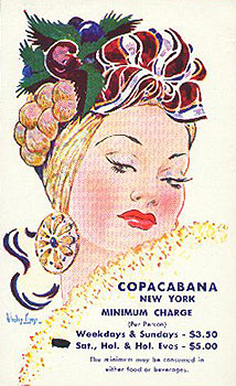 the Copacabana poster