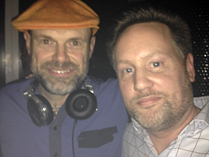 Dave Lee and Discoguy at Le Bain NYC in 2014