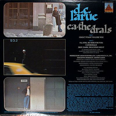 the Back side of the Ca-The-Drals cover