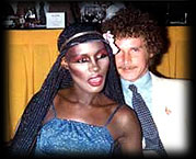Grace Jones and D.C.