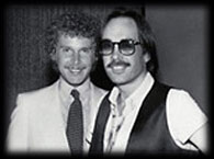 D.C. LaRue and Richie Kaczor of Studio 54