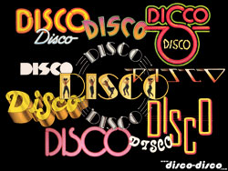 Disco collage...