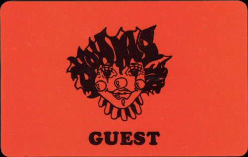 FunHouse Guest card