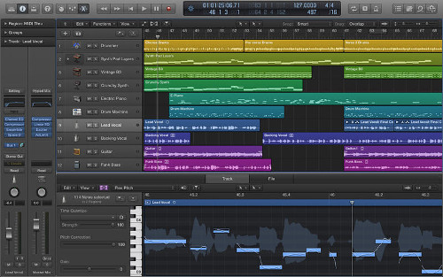 Logic Pro window