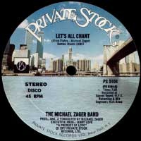 Michael Zager Band - Lets All Chant 12inch