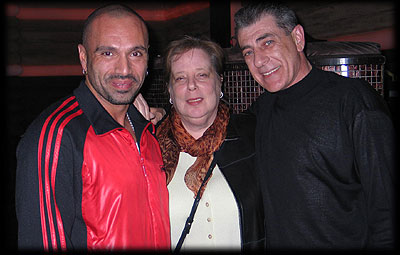 David Morales and Judy Weinstein visit Pooch playing at Cielo in 2006