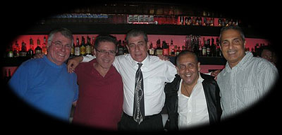 Tom Moulton, Jackie McCloy, Pooch, Bacho Mangual and Bobby Viteritti