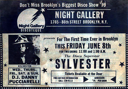the Night Gallery Sylvester ad