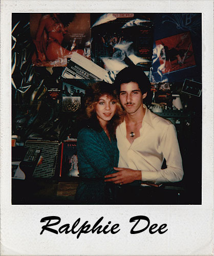 Ralphie Dee with girlfriend