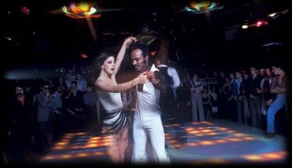 Dancers on the 2001 Odyssey dance floor