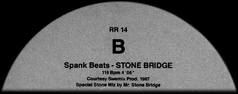 Remixed Records 14 - first time the name StoneBridge was used