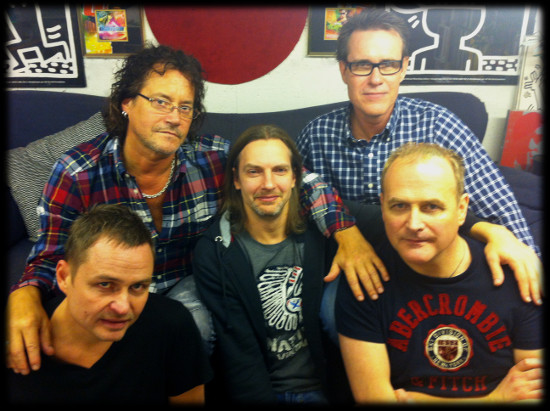 the SweMix guys in 2013 - top - Robert, Rene, middle - JJ, bottom - Sten, Emil