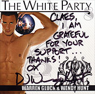 Signed White Party 8 CD