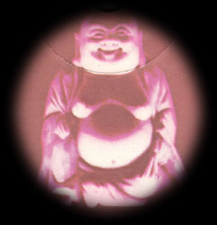 the Smiling Buddha